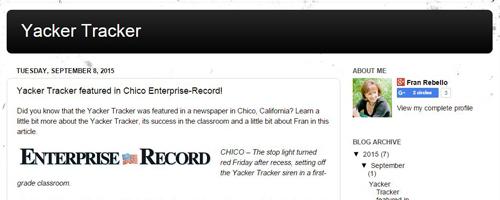 Yacker Tracker Blog